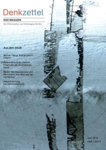 Denkzettel. Das Magazin 1/2012